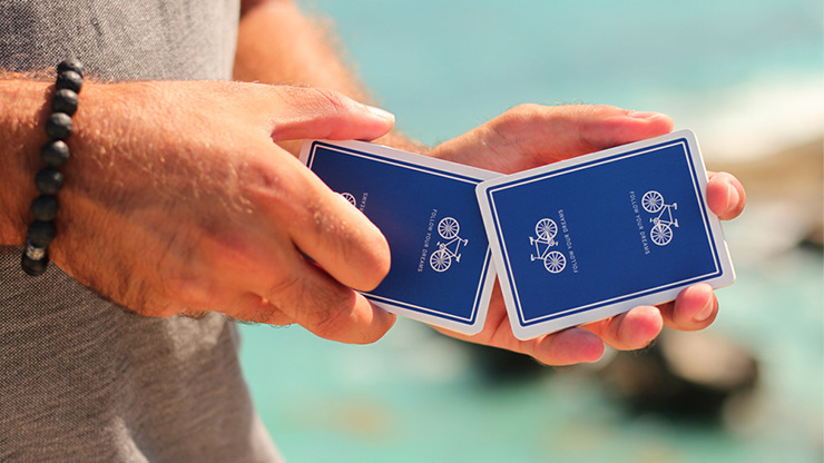 Bicycle Inspire (Blue) Playing Cards