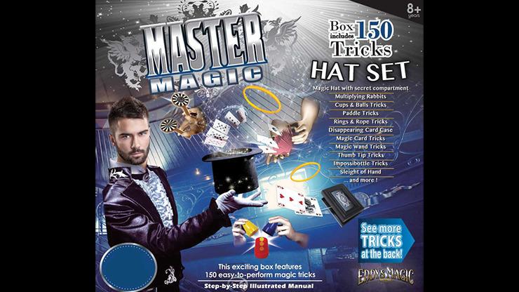 MASTER MAGIC 150 MAGIC HAT SET by Eddy's Magic