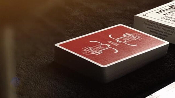 Juice Joint (Red) Playing Cards by Michael McClure