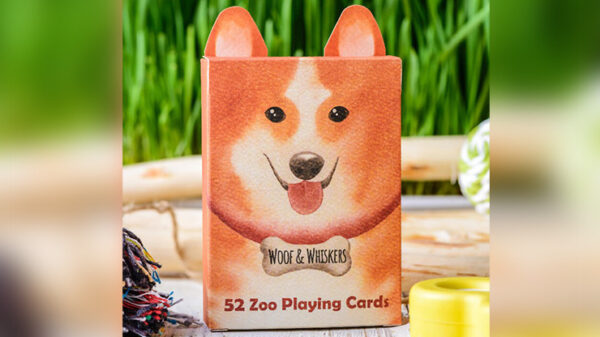 Zoo 52 (Woof Whiskers) Playing Cards by Elephant Playing Cards