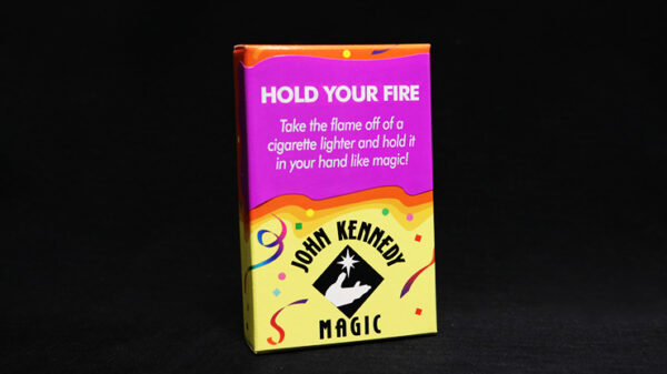 Hold Your Fire by John Kennedy Magic
