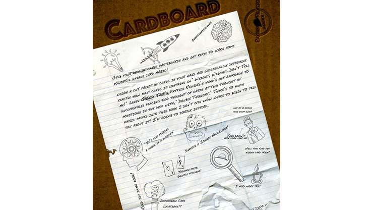 CARDBOARD The Book by Patrick G. Redford - Book