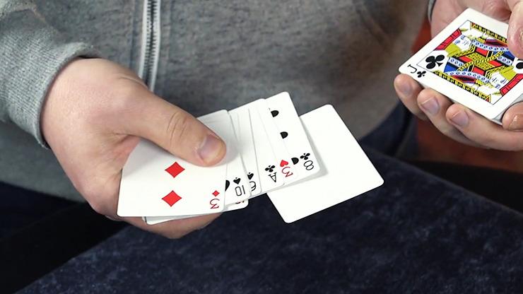 The Virus Card by Mark Leveridge and Kaymar Magic