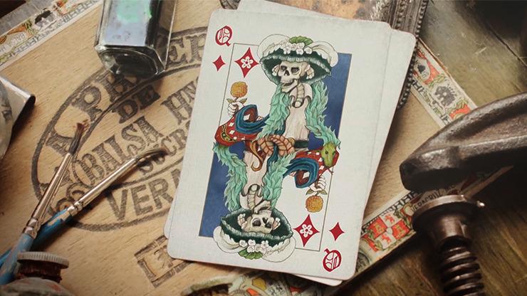El Reino de Loas Muertos-Expert Edition Playing Cards