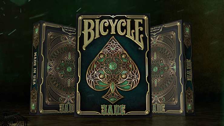 Bicycle Jade Playing Cards by Gambler's Warehouse