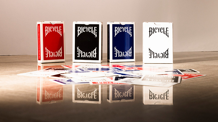 Bicycle Insignia Back (Blue) Playing Cards