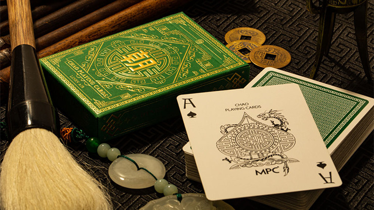 Chao (Green) Playing Cards by MPC