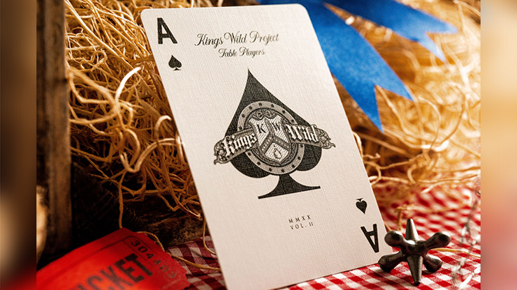No.13 Table Players Vol. 2 Playing Cards by Kings Wild Project