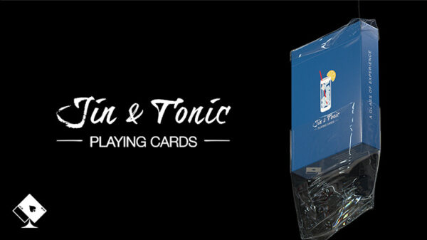 Jin and Tonic Playing Cards