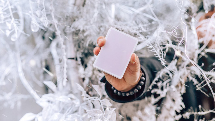 Winter NOC Lavender Dusk (Purple) Playing Cards