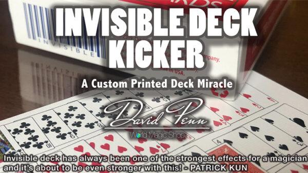 Invisible Deck Kicker by David Penn