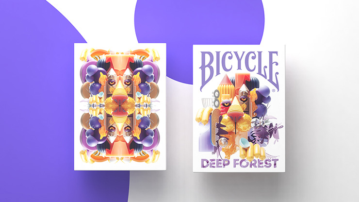 Deep Forest Playing Cards By Riffle Shuffle
