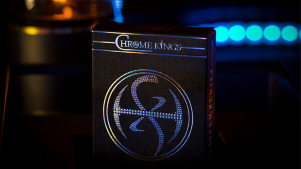 Chrome Kings Carbon Playing Cards (Foiled Edition)