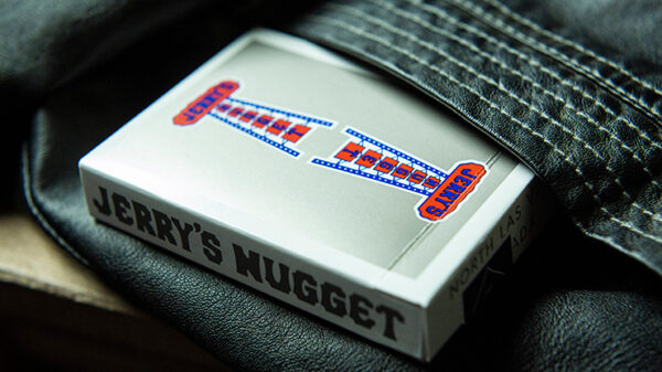 Vintage Feel Jerry's Nuggets (Steel) Playing Cards