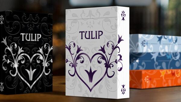 Purple Tulip Playing Cards Dutch Card House Company