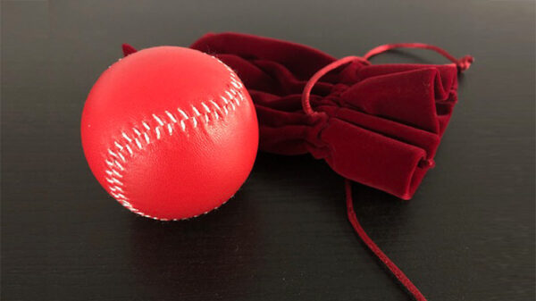 Final Load Ball Leather White (5.7 cm Red) by Leo Smetsers