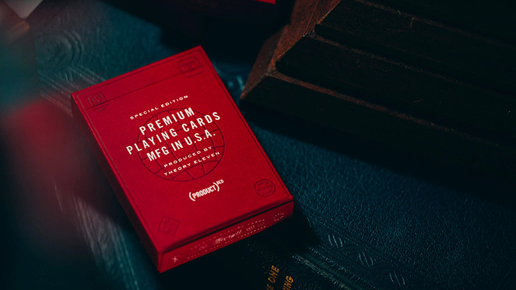 (PRODUCT) Red Special Edition Playing Cards by theory11