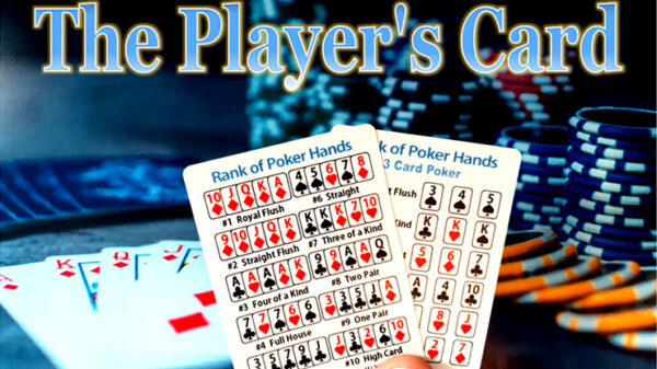 The Player's Card by Paul Carnazzo