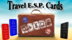 Travel ESP Cards Blue & Red by Paul Carnazzo