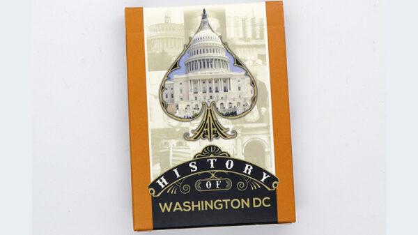 History Of Washington DC Playing Cards