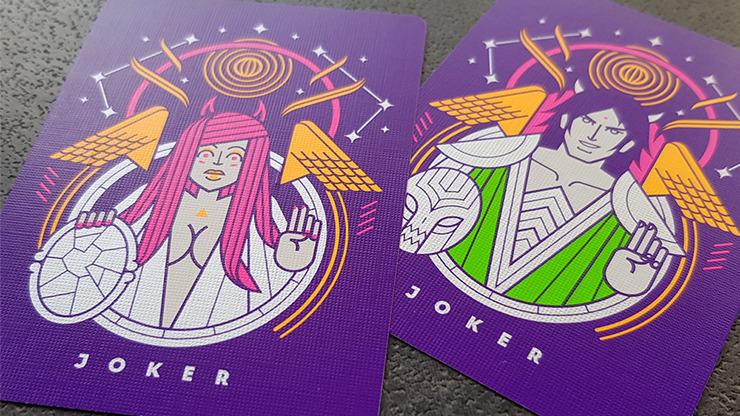 Modern Idols (Fear) Playing Cards