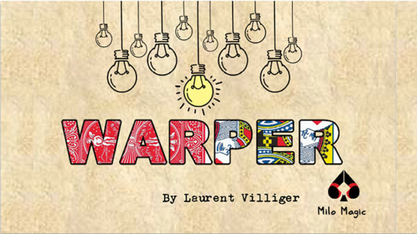 WARPER Blue by Laurent Villiger