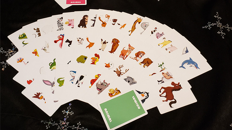 Animal Card by Tejinaya by Tejinaya Magic