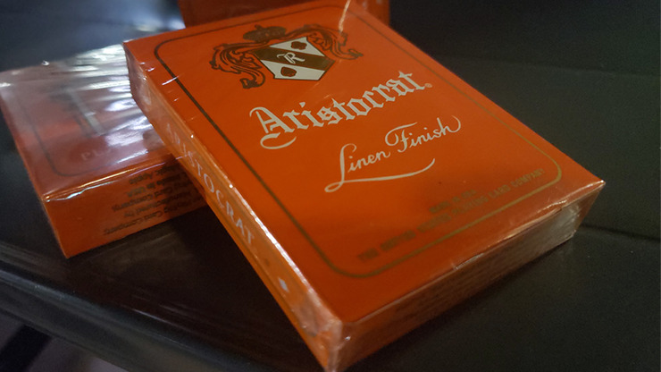 Aristocrat Orange Edition Playing Cards