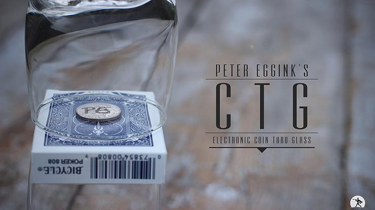 CTG Blue (Gimmicks & Online Instruction) by Peter Eggink