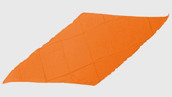 Diamond Cut Silk 18 inch (Orange) by Magic By Gosh