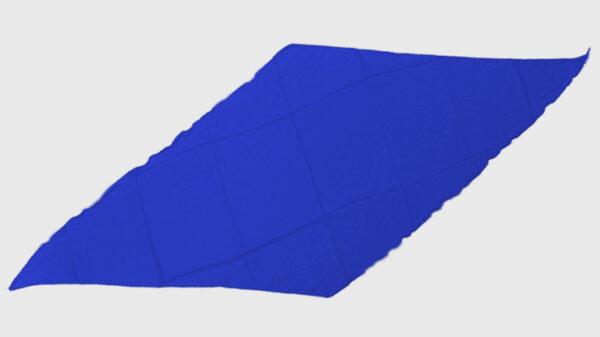 Diamond Cut Silk 18 inch (Blue) by Magic By Gosh