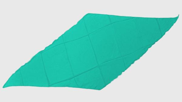 Diamond Cut Silk 18 inch (Turquoise) by Magic By Gosh