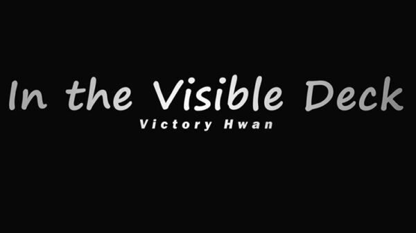 In the Visible Deck RED (Gimmicks and Online Instruction by Victory Hwan