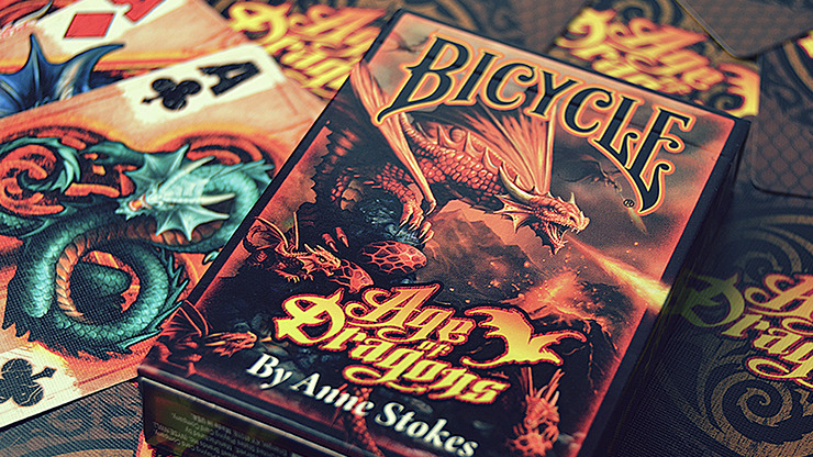 Bicycle Anne Stokes Age of Dragons Playing Cards by USPCC