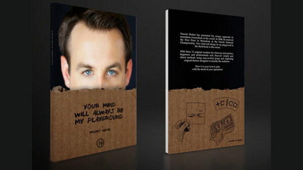 Your Mind Will Always Be My Playground by Vincent Hedan - Book