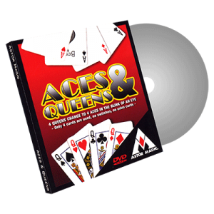 Aces and Queens (Cards Color Varies) by Astor