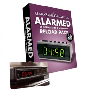 Alarmed RELOAD by Noel Qualter, Ade Gower and Alakazam Magic