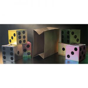 Appearing Dice from Empty Bag by Tora Magic