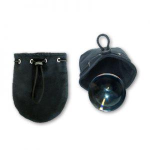 Canvas Ball Bag (80 MM) for Contact Juggling Balls & Chop Cups by Dr. Bob's Magic Shop