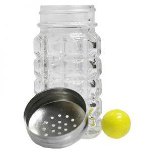 Ball in Salt Shaker
