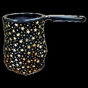 Change Bag Stars (Black/Gold Stars/Black Rim) by Bazar de Magia