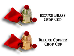 Chop Cup- Bazar Magic (Brass) by Bazar de Magia