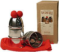 Cups & Balls w/Chop Cup Alum.Combo by Bazar de Magia