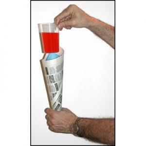 Comedy Glass in Paper Cone by Bazar de Magia