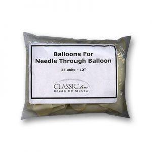 Needle Through Balloon Replacement (25 balloons) by Bazar de Magia