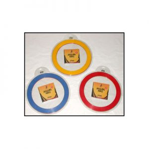 Juggling Rings Set (3 Rings and DVD) - Assorted Colors by Zyko