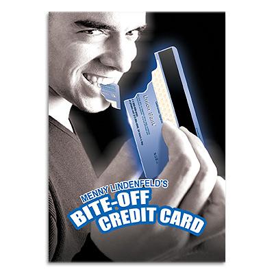 Bite Off Credit Card by Menny Lindenfeld