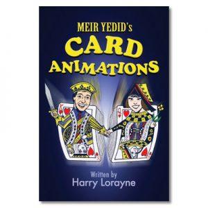 Meir Yedid's Card Animations by Harry Lorayne - Book