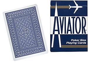 Cards Aviator Poker size (Blue)