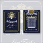 Bicycle Aristocrat 727 Bank Note Cards (Blue) by USPCC